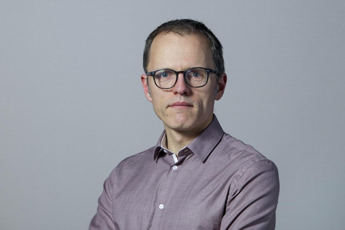 Bilde av generalsekretær Stian Slotterøy Johnsen.