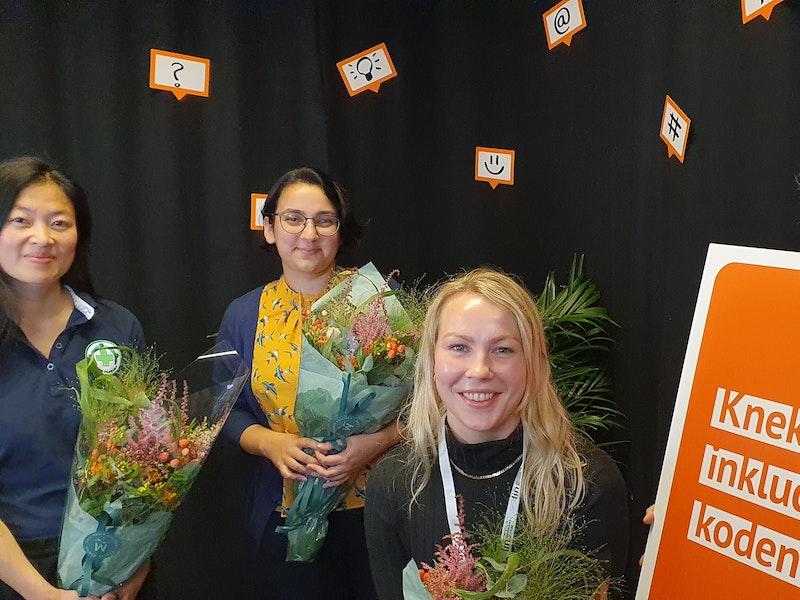 Innledere fra Norsk Folkehjelp, Papillon, LIN og Frivillighet Norge