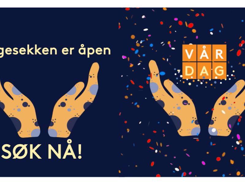 Illustrasjon av VÅR DAG kampanjen.