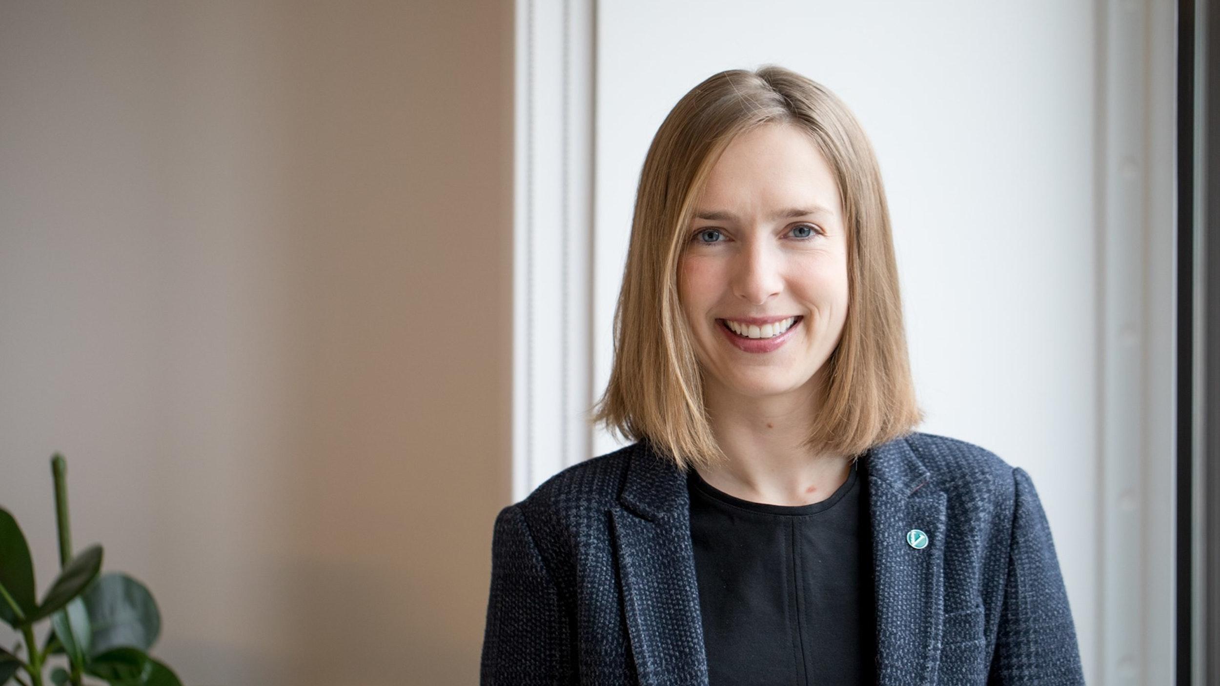Bilde av næringsminister Iselin Nybø.