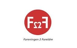 Foreningen 2 Foreldre F2F logo