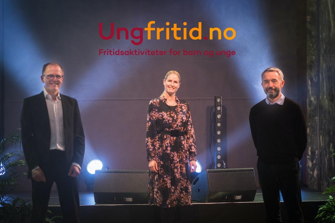 Generalsekretær og prosjektleder i Frivillighet Norge, og André Støylenfra Sparebankstiftelsen