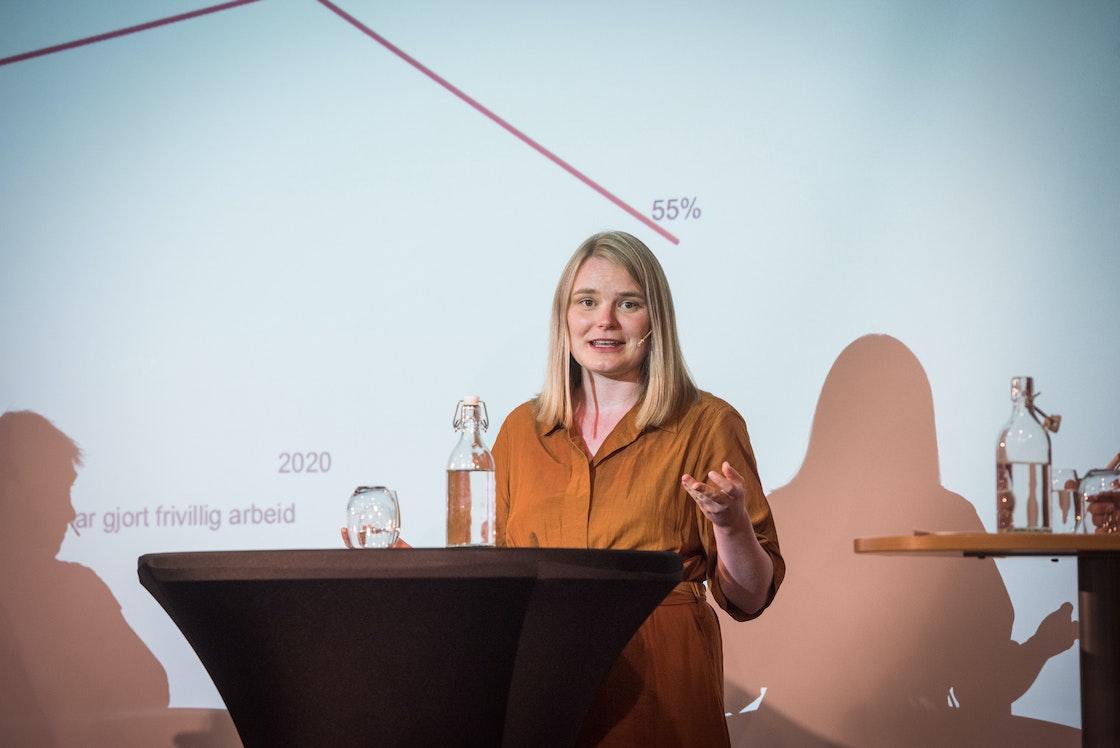 Isa Maline Isene, Leder, Landsrådet for Norges barne- og ungdomsorganisasjoner (LNU)