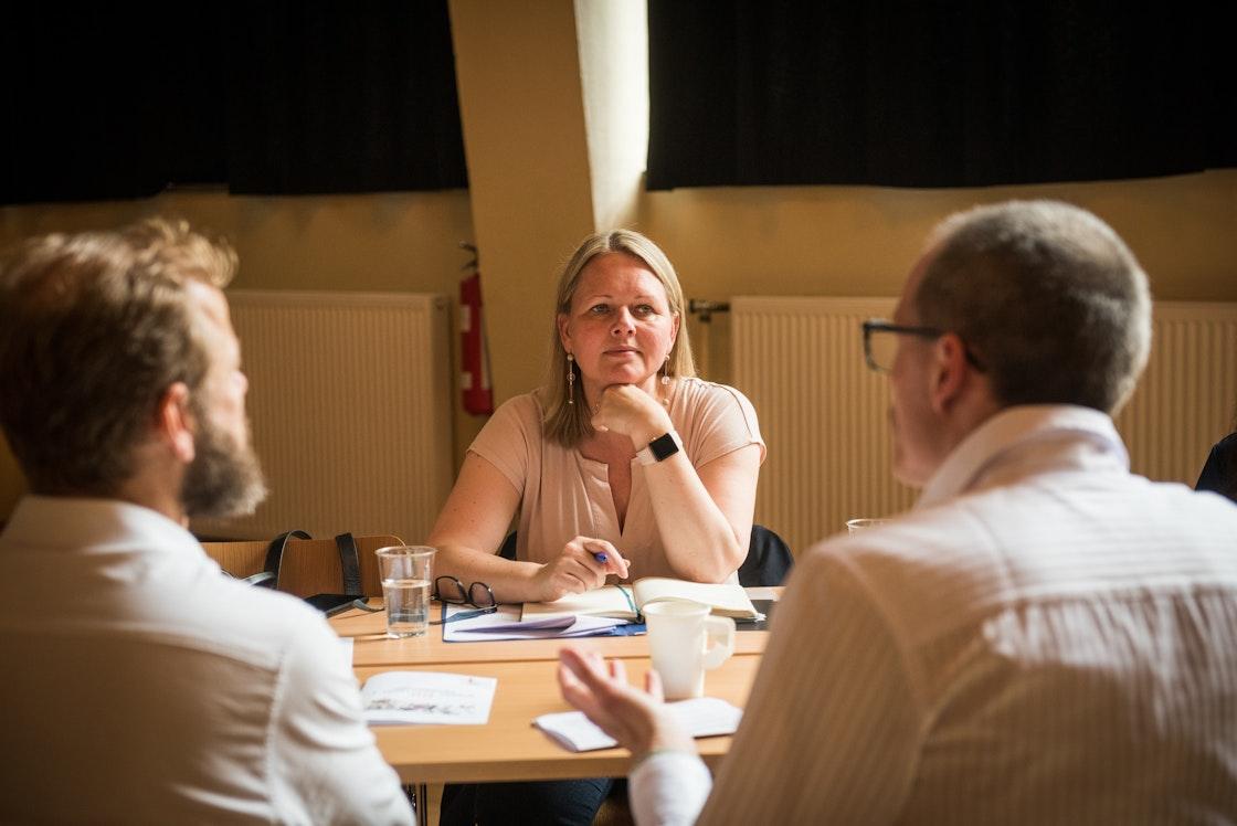 Statssekretær i Kulturdepartementet Frida Blomgren