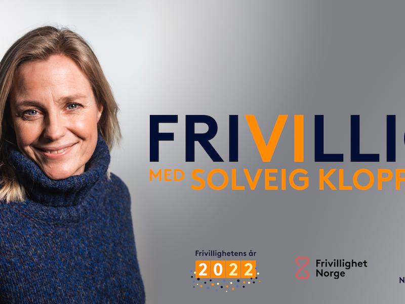 Solveig Kloppen skal lede en ny podkast om frivillighet i Norge som lanseres i februar 2021.