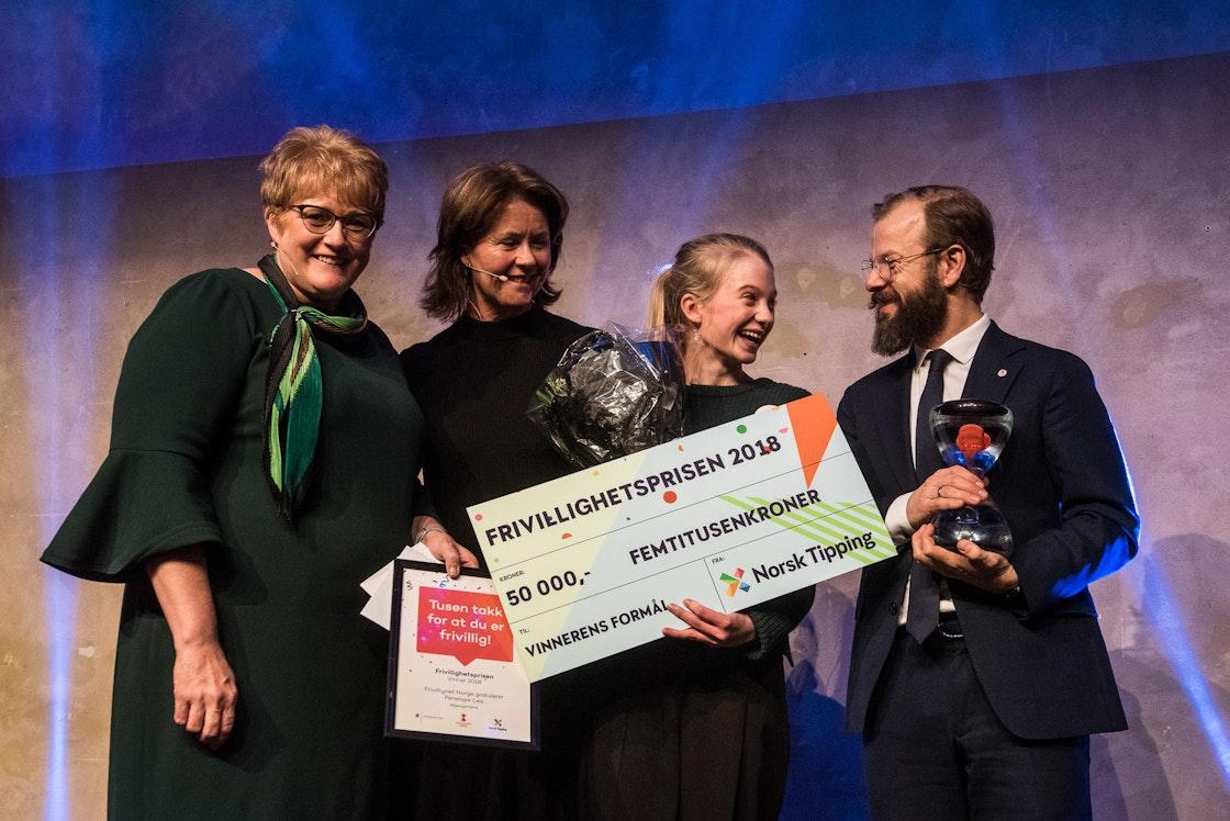 Trine Skei Grande, Åsne Havnelid, Penelope Lea, Heikki Eidsvoll Holmås.