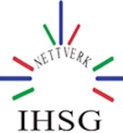 Internasjonal helse- og sosialgruppe (IHSG) logo