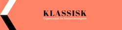 Klassisk - Organisasjon for konsertarrangører Logo