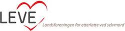 LEVE - Landsforeningen for etterlatte ved selvmord Logo