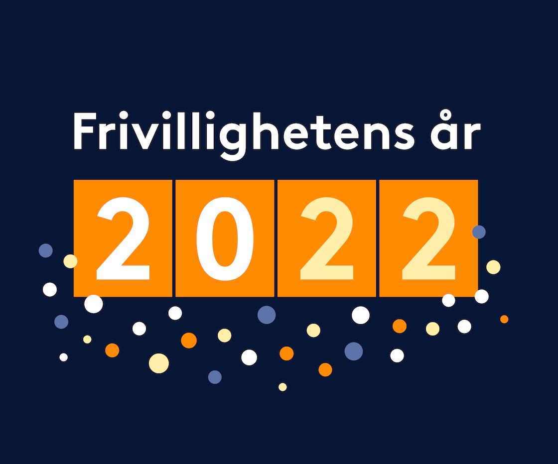 Logo til Frivillighetens år