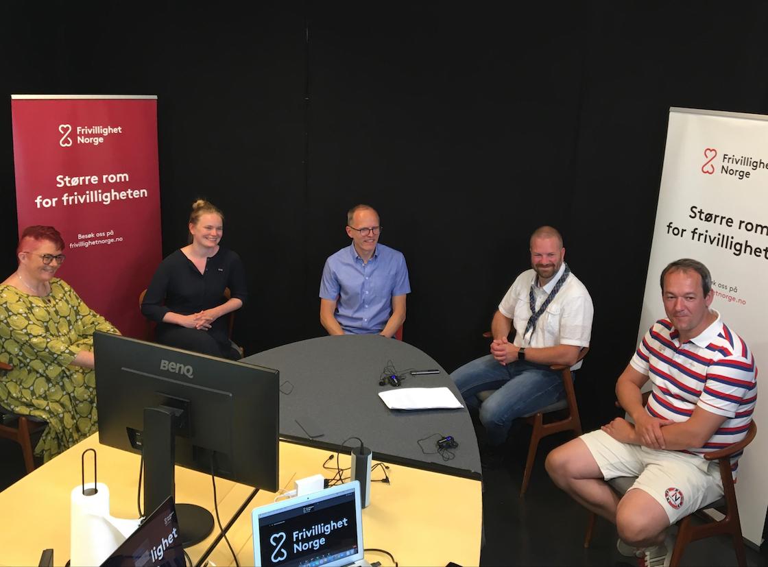 Stian Slotterøy Johnsen åpner digital debatt om om tiltak for økt deltakelse og Fritidskortet