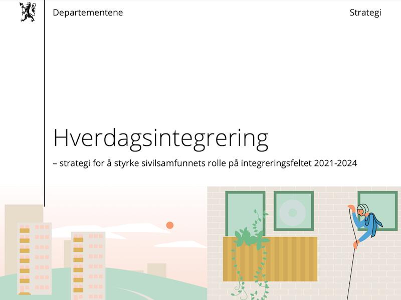 Hverdagsintegrering – strategi for å styrke sivilsamfunnets rolle på integreringsfeltet 2021-2024