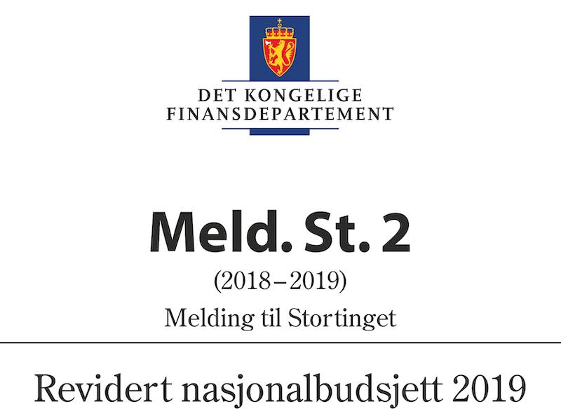 Revidert nasjonalbudsjett 2019