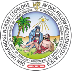 Den Uavhængige Norske Storloge av Odd Fellow Ordenen Logo