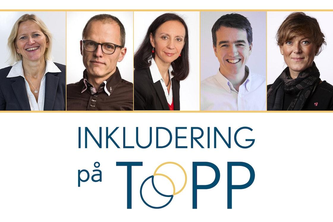 Karen Kvalevåg, Stian Slotterøy Johnsen, Martha R. Skretteberg, Åsmund Mæhle og Grete Herlofson