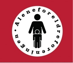 Aleneforeldreforeningen logo