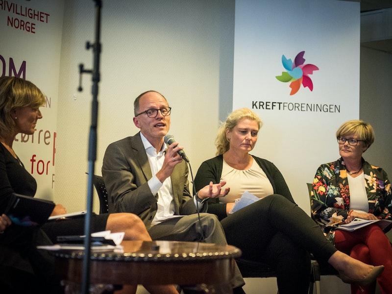 Grete Herlofson, Stian Slotterøy Johnsen Beate Heieren Hundhammer, Kristin Ørmen Johnsen (H)