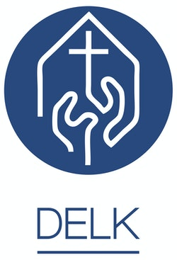 DELK - Det Evangelisk-Lutherske Kirkesamfunn Logo