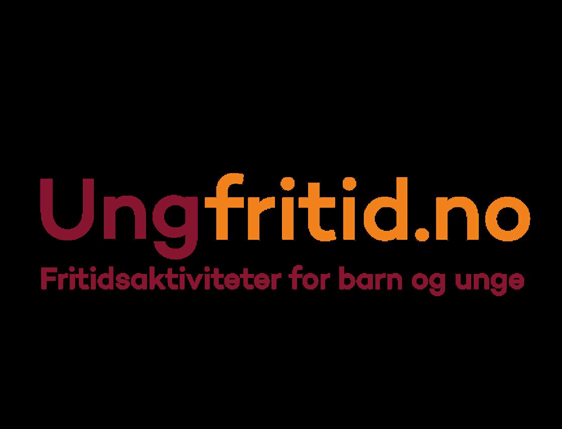 logo for ungfritid.no, fritidsaktiviteter for barn og unge