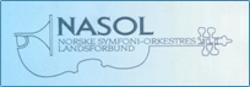 Norske symfoniorkestres landsforbund NASOL Logo